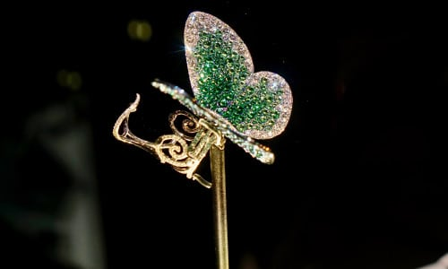 'Papillon' ring by G (Glenn Spiro)